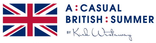 logo  A : CASUAL BRITISH: SUMMER by Kirk Westaway (Seasonal Pop-Up at Anti:dote)